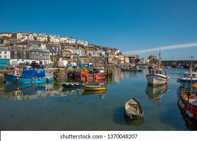 Idyllic harbor in Cornwall