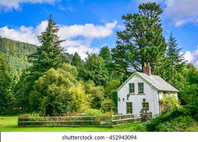 Idyllic house near Glendalough Upper Lake, County Wicklow, Ireland