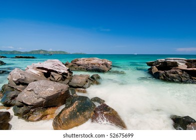 Idyllic sea front