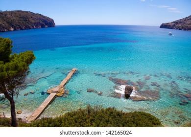 Idyllic Sea View in Mallorca, Spain