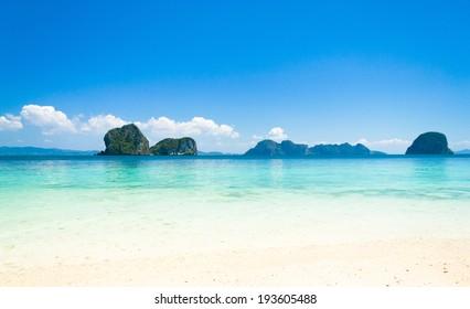Idyllic Vacation Divine Blue