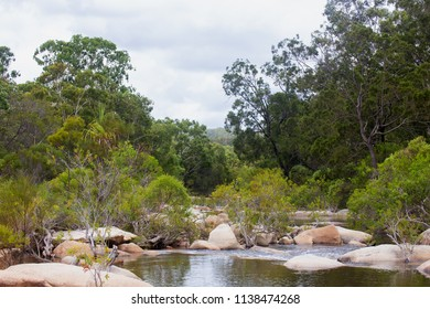 Idyllic view of the Walsh River in Queensland, Australia