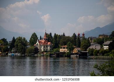 idyllic Village of Millstatt am See,Carinthia,Austria