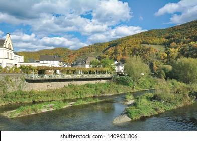 idyllic Wine Village of Rech in Ahrtal near Bad Neuenahr-Ahrweiler,Rhineland-Palatinate,Germany