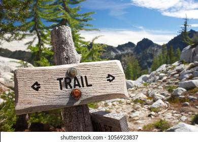 Idyllwild Trail Sign