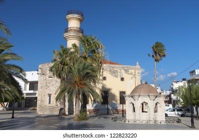 Ierapetra city at Crete island in Greece.