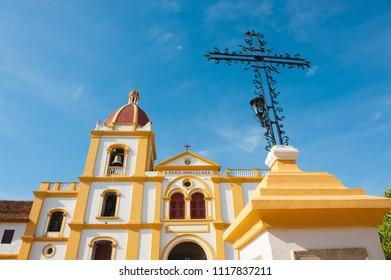 Iglesia de la Inmaculada Concepcion, Mompox, Colombia.
