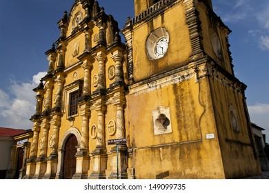 Iglesia de la Recoleccion (Church of the Recoleccion), in Leon, Nicaragua