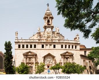 Iglesia De Los Santos Juanes, Valencia, Spain, Europe