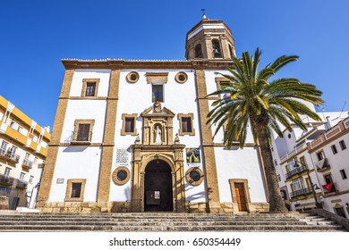 Iglesia de Nuestra Senora de la Merced in Ronda, Andalusia, Spain, Europe