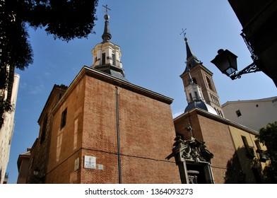Iglesia de San Nicolas Servitas,  Plaza de St. Nicolas.