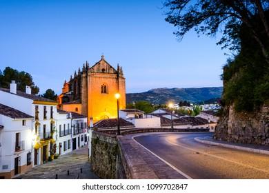 Iglesia del Espiritu Santo, Historic and Artistic Center of Ronda, Ronda, Serrania de Ronda, Malaga, Andalusia, Spain, Iberian Peninsula