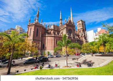 Iglesia del Sagrado Corazon (Sacred Heart Church) better known as the Church of the Capuchins is located in the city of Cordoba, Argentina.