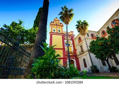 Iglesia San Agustin, Historic and Artistic Center of Malaga, Costa del Sol, Andalusia, Spain, Iberian Peninsula
