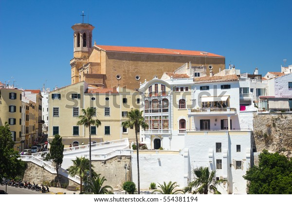 Iglesia Santa Maria Can Mir Mahon Stock Photo Edit Now 554381194