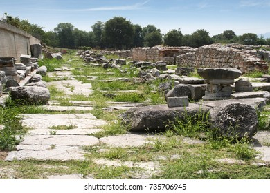 Ignatian Way.The Ignatian Way (Via Egnatia) was was a road constructed by the Romans in the 2nd century BC. Road was travelled by Paul and companions recorded in the Bibles book of Acts. In Philippi.