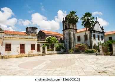 Igreja de Nossa Senhora da Conceicao (Church of Our Lady of Conception) in the historic center of Olinda - Pernambuco, Brazil