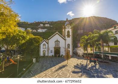 Igreja Matriz de Sao Bento, Ribeira Brava village, Madeira island, Portugal.