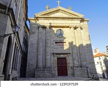 'Igrexa das Animas' church, in the city of Santiago de Compostela Santiago de Compostela, Galicia, Spain 11/16/2018