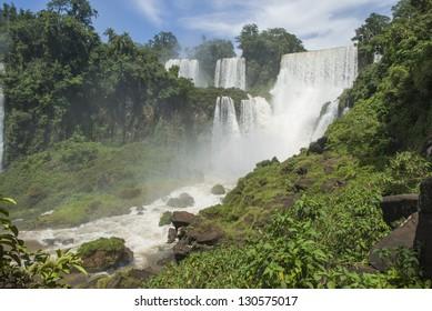 Iguassu falls (Iguazu/Iguacu), Misiones, Argentina.