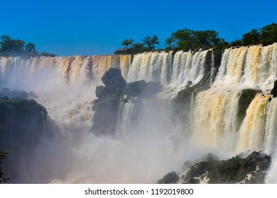 Iguasu Falls (Cataratas) - Argentina Side.