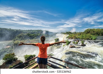 Iguazu falls, 7 wonder of the world in  Argentina