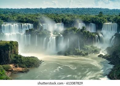 Iguazu Falls, 7 Wonder in the world, Puerto Iguazu - Argentina