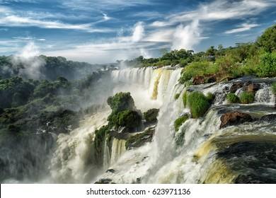 Iguazu falls, 7 wonder of the world in Argentina - South Armerica