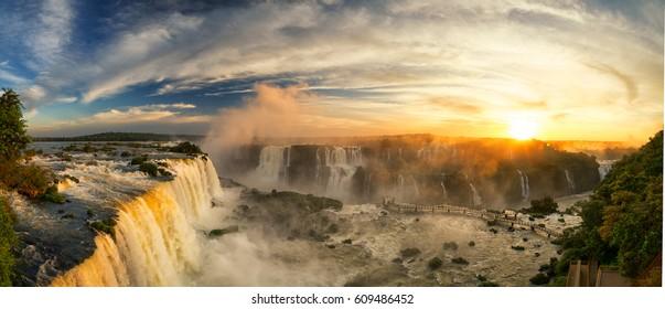 Cataratas de Iguazú, Foz de Iguazú, Brasil