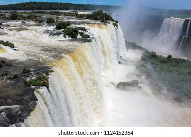 Iguazu Falls or Iguacu Falls are waterfalls of the Iguazu River on the border of the Argentine province of Misiones and the Brazilian state of Parana