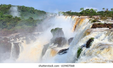 Iguazu Falls - nature wonders of the world.