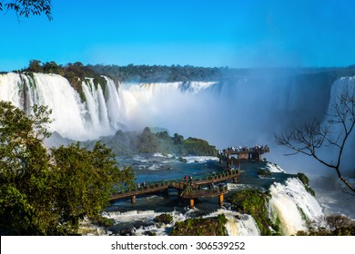 Iguazu water falls