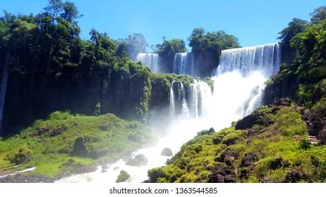 Iguazu Waterfalls Brazil Argentina