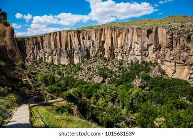 Ihlara Valley Clear Sky Cappadocia