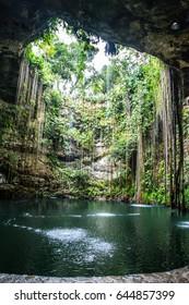 Ik kil cenote in Mexico