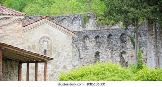 Ikalto Academy in Ikalto (Iqalto) monastery complex, Eastern Georgia, Europe, Caucasus