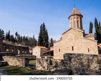 Ikalto cathedral in Kakheti region, Georgia.
