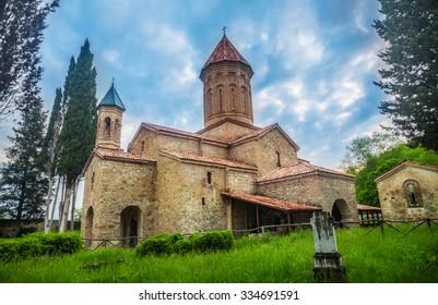 Ikalto cathedral in Kakheti region, Georgia