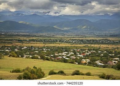 Ikalto (Iqalto) village. Kakheti. Georgia
