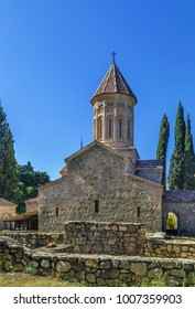 The Ikalto monastery in the late 6th century  about 10 km west of the town Telavi, Kakheti, Eastern Georgia