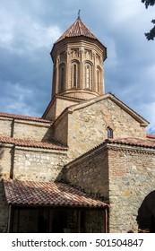 Ikalto orthodox monastery complex and Academy in Kakheti Georgia.