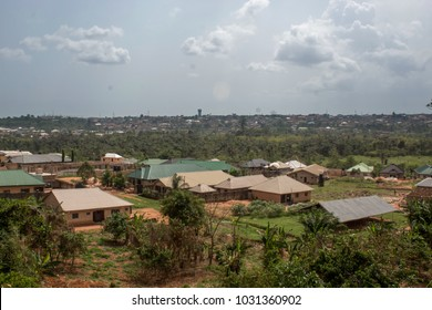 Ikpoba Hill in Benin City, Edo State, NIgeria, West Africa