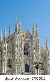 Il Duomo cathedral at Milan, Italy