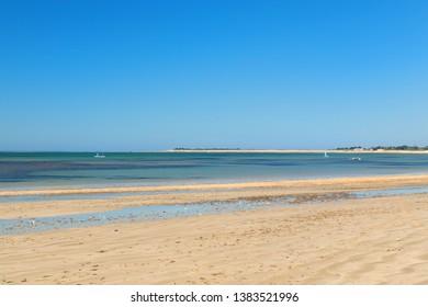 Ile de Ré - Beach cart at La Couarde sur mer