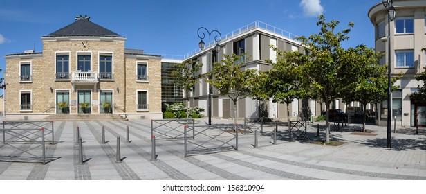 Ile de France, the city hall of Les Mureaux