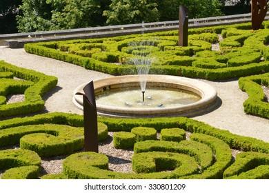 Ile de France, the picturesque castle of Auvers sur Oise