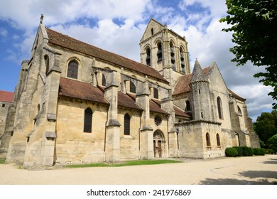 Ile de France, the picturesque church of Auvers sur Oise painted by Vincent Van Gogh