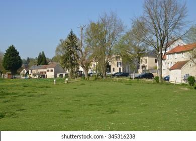 Ile de France, the picturesque village of Seraincourt