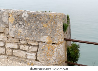 Ile de Re in France walls and ramparts part of the Fortifications of Vauban