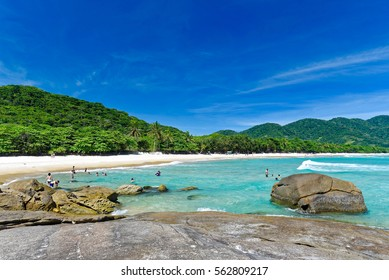 Ilha Grande, Rio de Janeiro, Brazil - JAN 10, 2017: A view from paradise.
